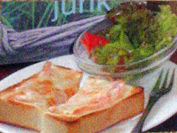 ハムチーズトースト