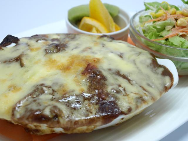 カレーのチーズ焼(ドリア風)